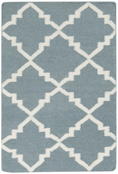 Frontier Moss Ivory Wool Area Rug - 24 x 36 FT229-23