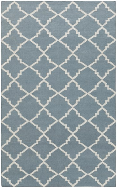 Frontier Moss Ivory Wool Area Rug - 60 x 96 FT229-58