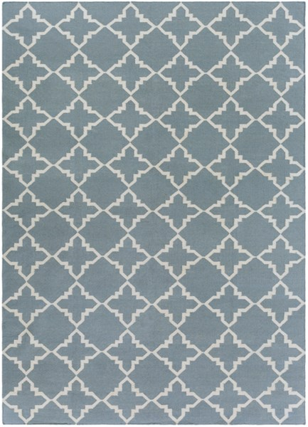 Frontier Moss Ivory Wool Area Rug - 96 x 132 FT229-811