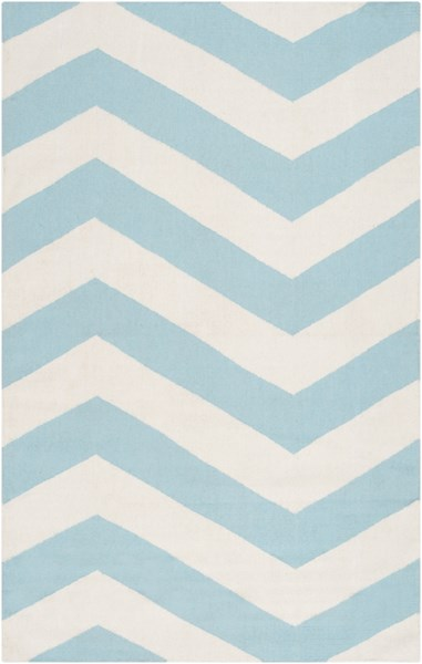 Frontier Ivory Mint Wool Area Rug - 60 x 96 FT277-58