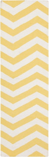 Frontier Ivory Lemon Wool Runner - 30 x 96 FT278-268