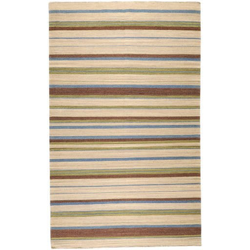 Frontier Flat Pile L 96 X W 60 Rectangle Wool Rug FT-30 FT30-58