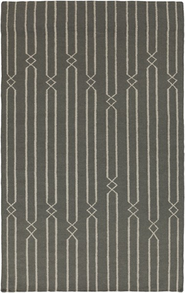 Frontier Contemporary Beige Moss Fabric Area Rug (L 96 X W 60) FT367-58