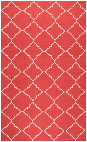 Frontier Cherry Light Gray Wool Area Rug - 60 x 96 FT41-58