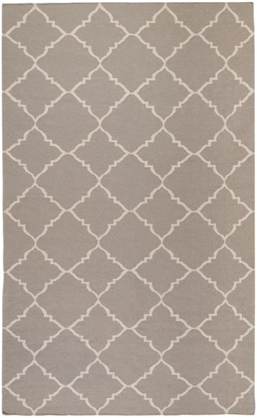 Frontier Taupe Gray Wool Area Rug - 60 x 96 FT42-58