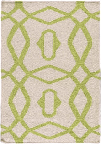 Frontier Contemporary Forest Ivory Fabric Area Rugs 865-VAR1