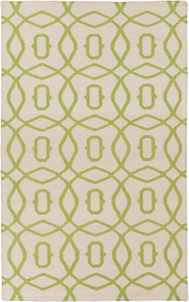 Frontier Contemporary Forest Ivory Fabric Area Rug (L 96 X W 60) FT532-58