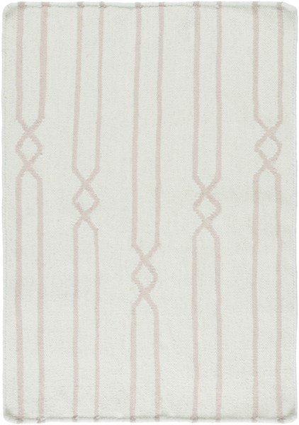 Frontier Contemporary Sea Foam Gray Fabric Area Rug (L 36 X W 24) FT611-23