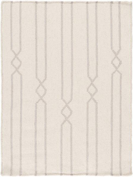 Frontier Contemporary Beige Gray Fabric Area Rug (L 36 X W 24) FT613-23
