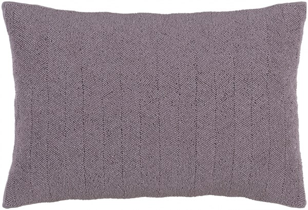 Gianna Mauve Down Cotton Lumbar Pillow - 20x13x4 GA001-1320D
