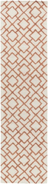 Gable Ivory Beige Cotton Viscose Micro Looped Runner (L 120 X W 30) GBL2000-2610