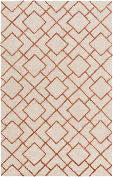 Gable Ivory Beige Cotton Viscose Area Rug - 60 x 90 GBL2000-576
