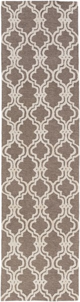 Gable Ivory Gray Taupe Cotton Viscose Runner (L 120 X W 30) GBL2003-2610