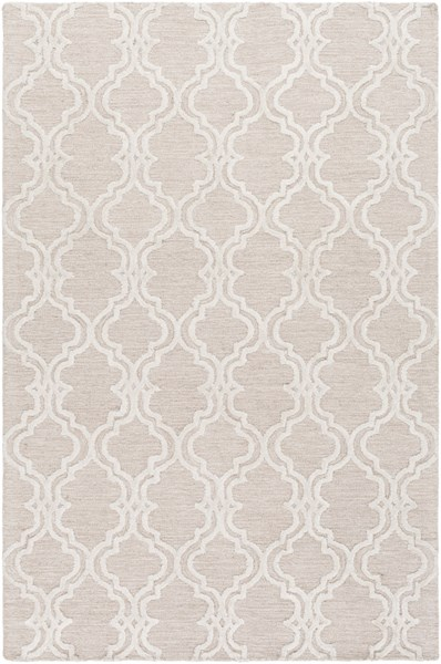 Gable Contemporary Ivory Beige Cotton Viscose Area Rug (L 90 X W 60) GBL2004-576