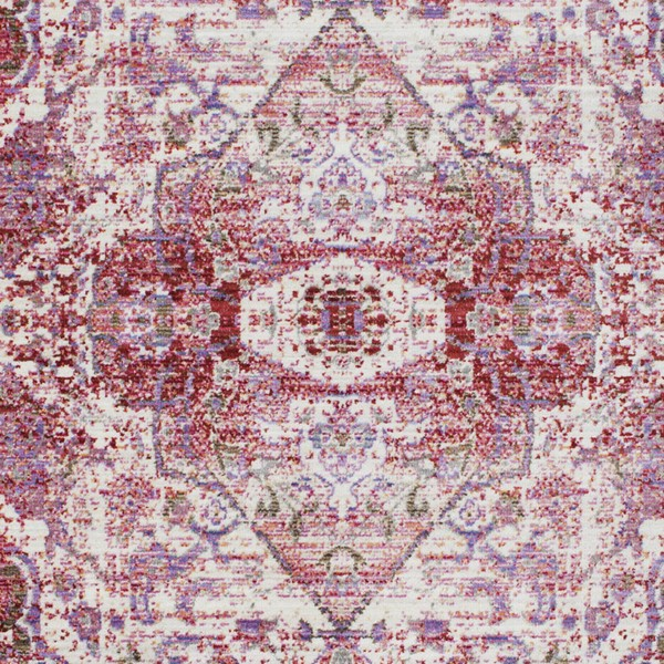 Surya Germili Bright Pink Purple Rose Area Rug - 18 x 18 GER2307-1616