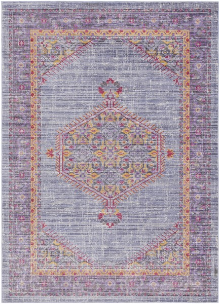 Surya Germili Violet Bright Purple Area Rug - 90 x 63 GER2308-5376