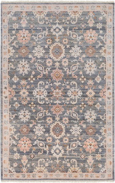 Surya Gorgeous Charcoal Taupe Camel Area Rug - 108 x 72 GGS1003-69