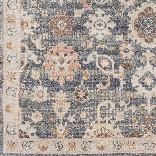 Surya Gorgeous Charcoal Taupe Camel Sample Area Rug - 18 x 18 GGS1003-1616