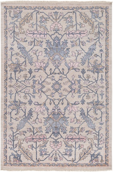 Surya Gorgeous Charcoal Khaki Wheat Area Rug - 156 x 108 GGS1006-913