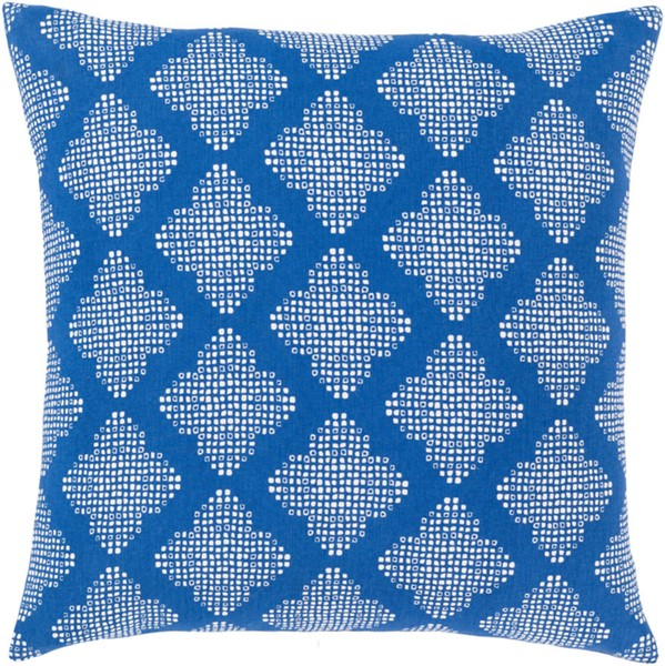 Surya Global Blues Geometric Pillow Cover - 18x18 GLB004-1818
