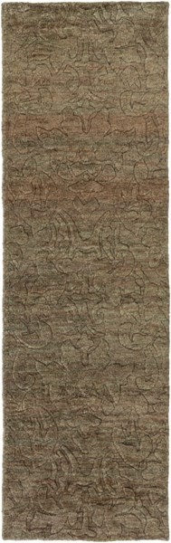 Galloway Contemporary Ivory Chocolate Jute Runner (L 96 X W 30) GLO1000-268