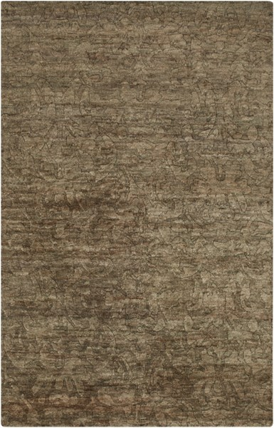 Galloway Olive Ivory Chocolate Jute Area Rug (L 96 X W 60) GLO1000-58