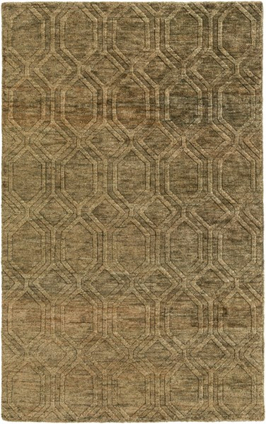 Galloway Contemporary Ivory Chocolate Jute Area Rug (L 96 X W 60) GLO1005-58
