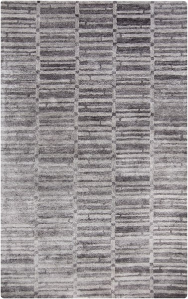 Gemini Light Gray Bamboo Silk Area Rug - 60 x 96 GMN4020-58