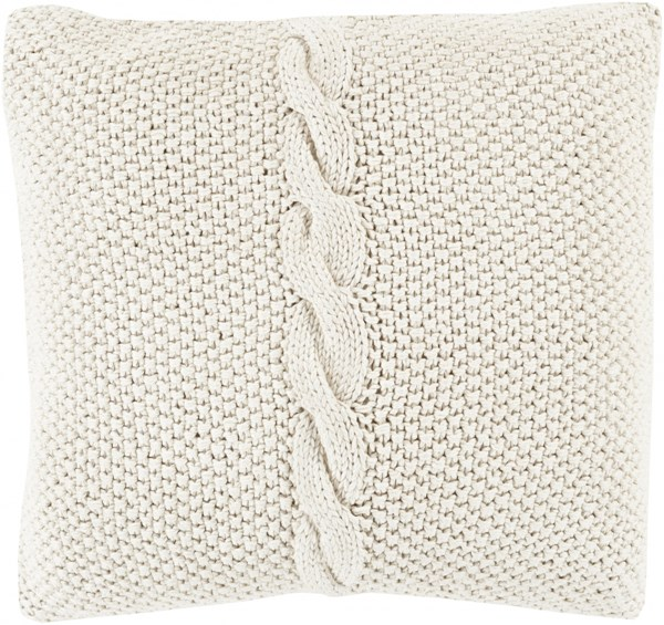 Genevieve Honydew Down Cotton Throw Pillow - 22x22x5 GN004-2222D