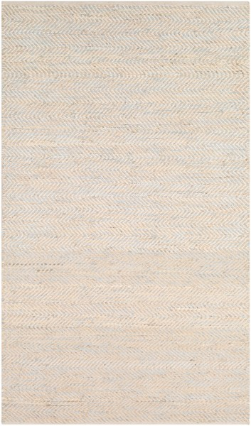 Surya Giovanni Light Gray Beige Cream Area Rug - 90 x 60 GNI1001-576