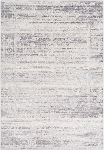 Surya Genesis Silver Gray White Traditional Area Rug - 147 x 111 GNS2300-93123