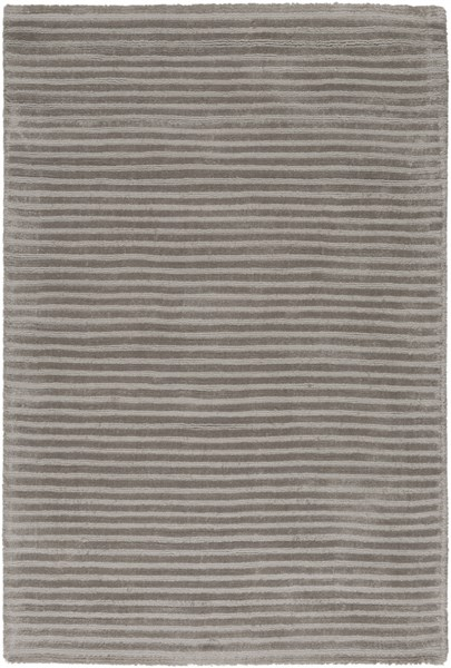 Graphite Contemporary Olive Viscose Area Rug (L 36 X W 24) GPH52-23