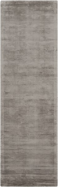 Graphite Contemporary Olive Viscose Runner GPH52-268