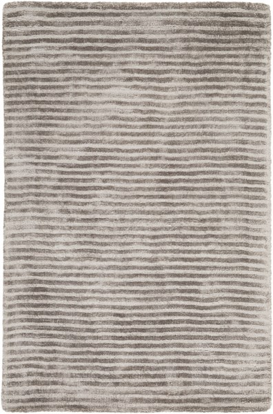 Graphite Contemporary Moss Fabric Hand Loomed Rectangle Area Rug GPH53-23