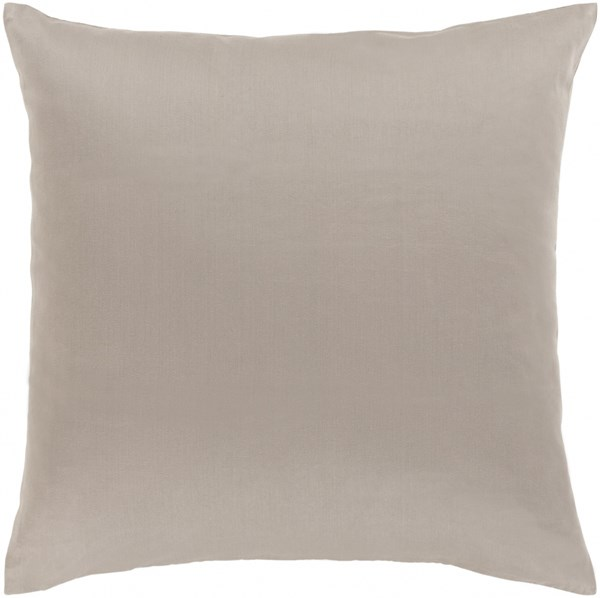 Griffin Pillow with Down Fill in Light Gray - 20 x 20 x 5 GR003-2020D