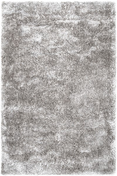 Surya Grizzly Light Gray Contemporary Area Rug - 96 x 60 GRIZZLY10-58