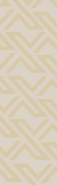 Galvany Contemporary Lime Ivory Viscose Cotton Runner (L 96 X W 30) GVY3012-268