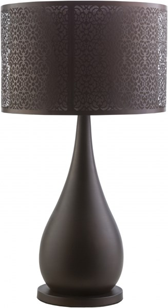 Gwendolyn Oil Rubbed Bronze Iron Cotton Table Lamp - 15x26.75 GWD222-TBL