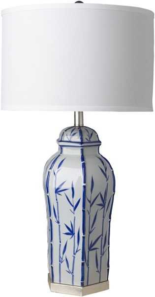 Surya Hanover White MDF Table Lamp - 16x31.50 HAO-100