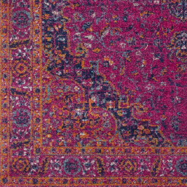 Surya Harput Garnet Burnt Orange Dark Blue Area Rug HAP1008-1616-RUG-VAR