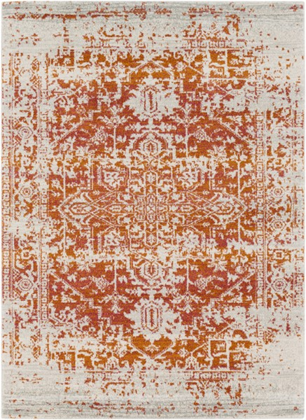 Surya Harput Burnt Orange Area Rug - 87 x 63 HAP1019-5373
