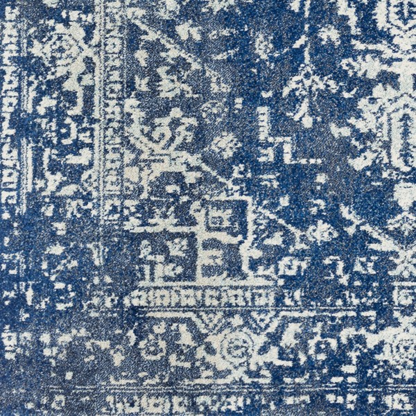 Surya Harput Dark Blue Sample Area Rug - 18 x 18 HAP1022-1616