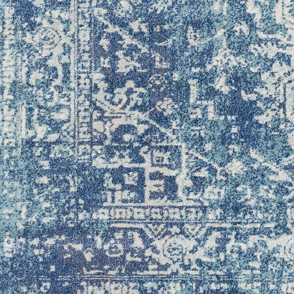 Surya Harput Teal Dark Blue Sample Area Rug - 18 x 18 HAP1023-1616