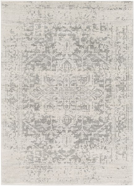 Surya Harput Light Gray Beige Area Rug - 123 x 94 HAP1024-710103