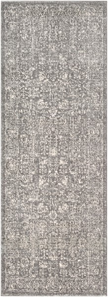Surya Harput Charcoal Light Gray Beige Runner - 87 x 31 HAP1029-2773