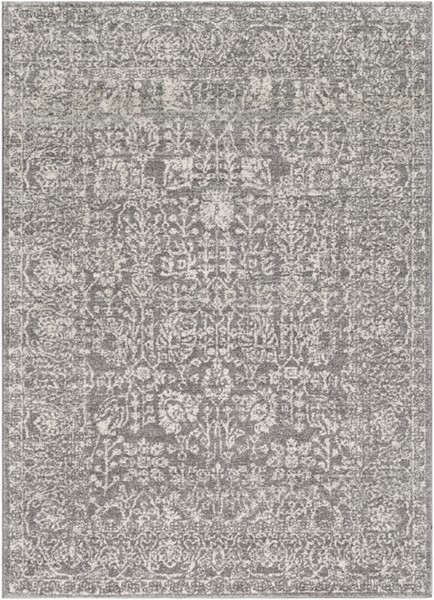 Surya Harput Charcoal Light Gray Beige Area Rug - 67 x 47 HAP1029-31157