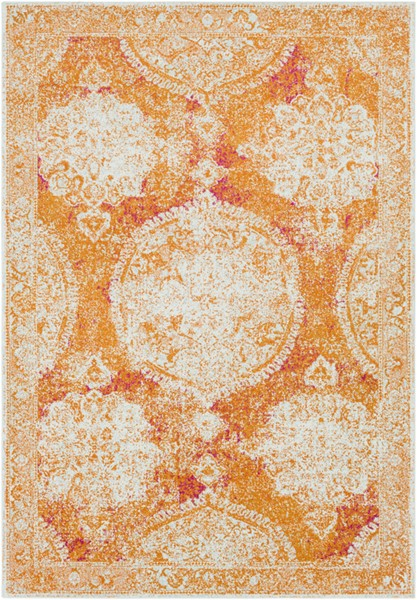 Surya Harput Burnt Orange White Garnet Area Rug - 150 x 111 HAP1042-93126