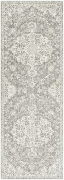 Surya Harput Light Gray Charcoal Beige Runner - 87 x 31 HAP1071-2773