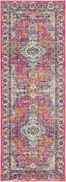 Surya Harput White Burnt Orange Saffron Runner - 87 x 31 HAP1086-2773