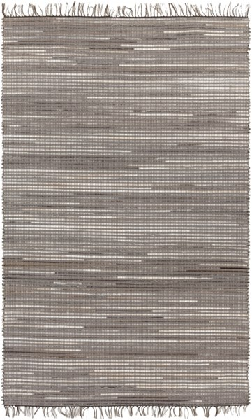 Havana Taupe Gray Charcoal Hair On Hide Polyester Area Rug - 60 x 96 HAV1000-58